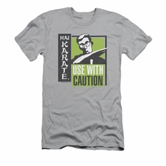 Hai Karate Shirt Slim Fit Caution Silver T-Shirt