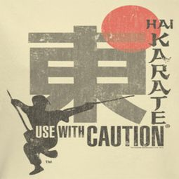 Hai Karate Sword Shirts