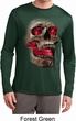 Halloween Cobra Skull Mens Dry Wicking Long Sleeve Shirt