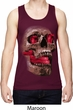 Halloween Cobra Skull Mens Moisture Wicking Tanktop