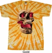 Halloween Cobra Skull Twist Tie Dye Shirt