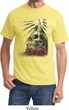 Halloween Day of the Dead Candle Skull Shirt