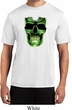Halloween Glow Bones Mens Moisture Wicking Shirt