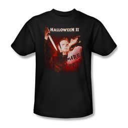 Halloween II Shirt Nightmare Adult Black Tee T-Shirt