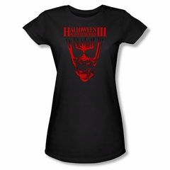 Halloween III Shirt Juniors Title Black Tee T-Shirt