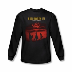 Halloween III Shirt Season Of The Witch Long Sleeve Black Tee T-Shirt