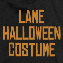 Halloween Lame Costume Shirts