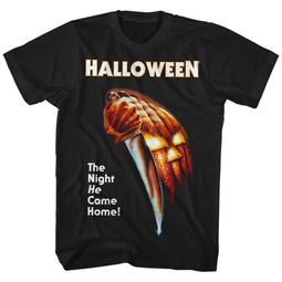 Halloween Shirt He Came Home Black T-Shirt