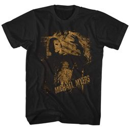 Halloween Shirt Michael Myers Black T-Shirt