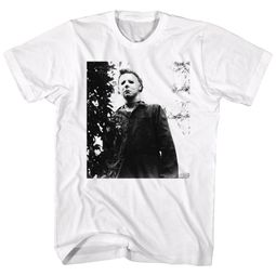 Halloween Shirt Michael Myers White T-Shirt