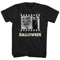 Halloween Shirt The Night He Came Home Black T-Shirt