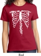 Halloween Skeleton Ladies Shirt