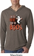 Halloween Tee I'm Here for the Boos Lightweight Hoodie Tee