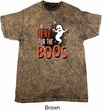Halloween Tee I'm Here for the Boos Mineral Tie Dye T-shirt