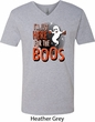 Halloween Tee I'm Here for the Boos V-neck