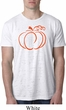 Halloween Tee Pumpkin Sketch Burnout Shirt