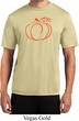 Halloween Tee Pumpkin Sketch Dry Wicking T-shirt