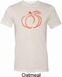 Halloween Tee Pumpkin Sketch Tri Blend Tee