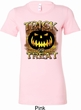 Halloween Trick or Treat Ladies Longer Length Shirt