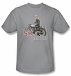 Happy Days Kids T-shirt - Sit on It Youth Silver Tee Shirt