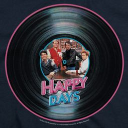 Happy Days On The Record Shirts