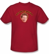Happy Days Ralph Kids T-shirt -Sit on It Malph Youth Red Tee Shirt