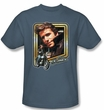 Happy Days T-shirt - The Fonz Adult Slate Tee Shirt
