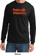 Happy Halloween with Pumpkin Long Sleeve