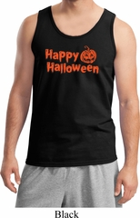 Happy Halloween with Pumpkin Tank Top