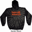 Happy Halloween with Pumpkin Tie Dye Hoodie