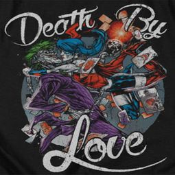 Harley Quinn Death By Love Shirts
