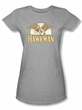 Hawkman Juniors T-shirt - Fly By DC Comics Athletic Heather Tee