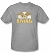 Hawkman T-Shirt – Fly By DC Comics Adult Athletic Heather Tee