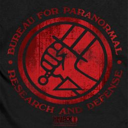 Hellboy II The Golden Army Red Distressed BPRD Shirts