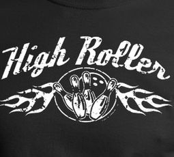High Roller Bowling Tee Shirt