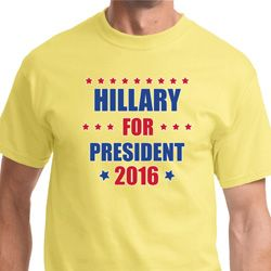 Hillary Clinton For President 2016 Shirts
