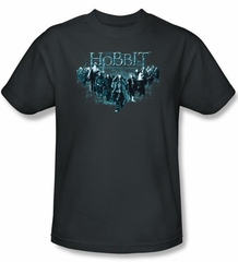 Hobbit Kids Shirt Movie Unexpected Journey Loyalty Thorin Charcoal Tee