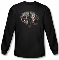 Hobbit Shirt Movie Unexpected Journey Loyalty Dwarves Long Sleeve Tee