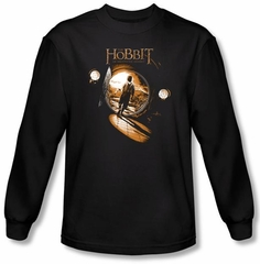 Hobbit Shirt Movie Unexpected Journey Loyalty Hole Black Long Sleeve