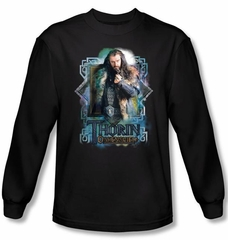 Hobbit Shirt Movie Unexpected Journey Thorin Oakenshield Long Sleeve