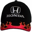 Honda Cap - Embroidered Flames Hat