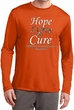 Hope Love Cure Carcinoid Cancer Dry Wicking Long Sleeve