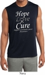 Hope Love Cure Carcinoid Cancer Dry Wicking Sleeveless Shirt