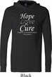 Hope Love Cure Carcinoid Cancer Lightweight Hoodie