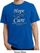 Hope Love Cure Carcinoid Cancer Pigment Dyed Shirt
