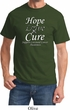 Hope Love Cure Carcinoid Cancer T-shirt