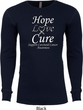 Hope Love Cure Carcinoid Cancer Thermal Shirt