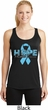 Hope Prostate Cancer Ladies Dry Wicking Racerback Tank Top