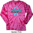 Hope Prostate Cancer Long Sleeve Tie Dye Shirt