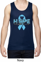 Hope Prostate Cancer Mens Moisture Wicking Tanktop